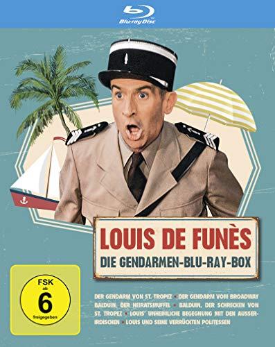 Louis de Funes - Gendarmen Blu-ray Box