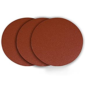 5 Inch 150 Grit Gold Peel and Stick Adhesive Backed PSA Sanding Discs 100 Pack