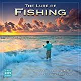 2021 The Lure of Fishing 16-Month Wall Calendar