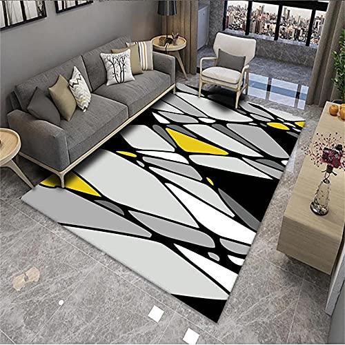 alfombras habitacion Gris Salón Alfombra Gris Dibujos Animados Pared Pared Moderno Dormitorio...