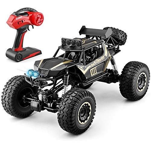 OUUED Versie RC Truck 1/10 Radiografisch bestuurbare Electric Car 50CM Grote afstandsbediening voertuig Rock Crawler 4WD Dual Motors m / min Offroad 2.4Ghz grote jongen monster speelgoedauto's Best Gi