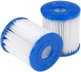 JYWJ - Filtro para piscina para Bestway Tipo I, cartucho de filtro, Jacuzzi o Spa sustituye a los cartuchos filtrantes (2 unidades)