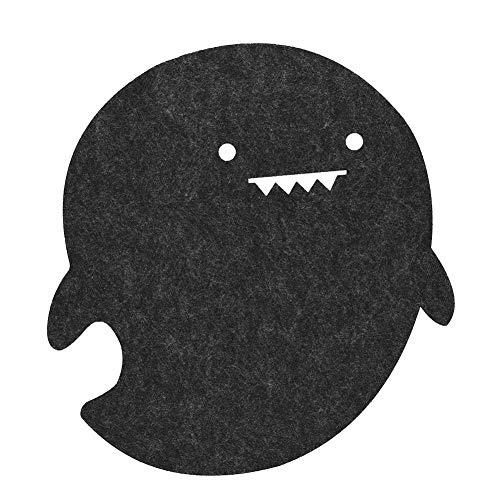 Computertafelonderlegger, stofdicht, antistatisch en antikras, voor schrijfbureau, computertafel, eenvoudig schoon te maken, gemakkelijk op te vouwen voor opslag, uitstekende schokabsorptie(zwart)