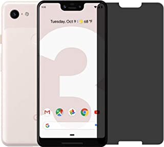 JadYass Glass Screen Protector with Glass Protection Strength (Privacy) for Google Pixel 3 / 3XL / 3a / 3a XL (Pixel 3XL)