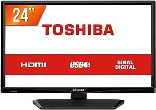 "TV LED, Semp Toshiba 24L1700, Preta, 24"""