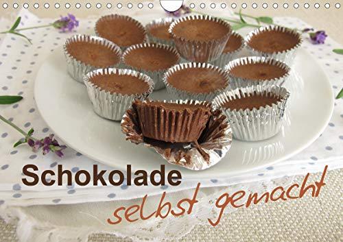 Schokolade – selbst gemacht (Wandkalender 2021 DIN A4 quer)