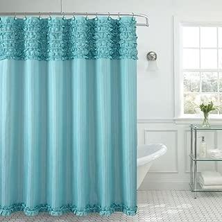 Daniel's Bath Miramar Shower Curtain, Aqua