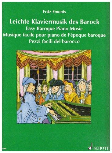 Leichte Klaviermusik des Barock: Klavier.