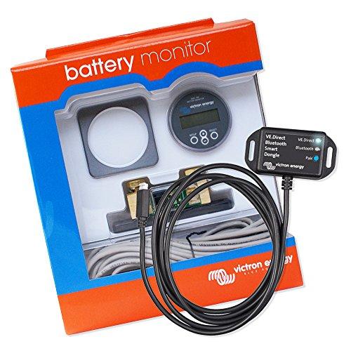 Batterie Monitor | Batteriecomputer | Batteriewächter | Spannungswächter | Victron Energy Set BMV 700 mit VE.Direct Bluetooth Smart dongle