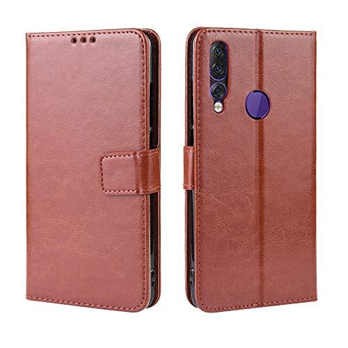 Custodia® Flip Brieftasche Hülle für Lenovo Z5s(Muster 1)