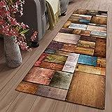 GJIF Läufer Teppich Flur rutschfest Modern Geometrisch, Korridor Teppich Für Küche Wohnzimmer Schlafzimmer, Breite 60cm / 80cm/ 90cm/ 100cm/ 120cm(Size:80x200cm)