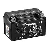 Batteria sigillata Yuasa YTX7A-BS 12 V 6 Ah 105 CCA con acido