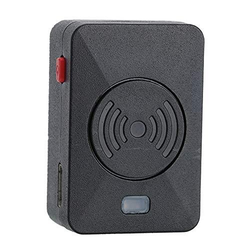 Interphone Bluetooth Headset, V4.0 Auricular Bluetooth, Desgaste indoloro, Reducción de ruido, con Mini tecla PTT y Adaptador Bluetooth, Fácil de operar, Diseño de botón simple, para todos los Walkie