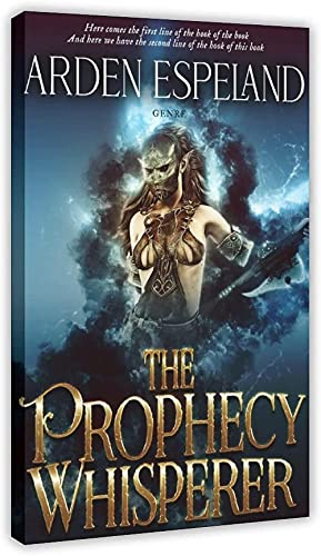 YUMKNOW Foto Auf Leinwand 40x60cm Kein Rahmen The Prophecy Whisperer Decor for Living Room Bedroom Decoration