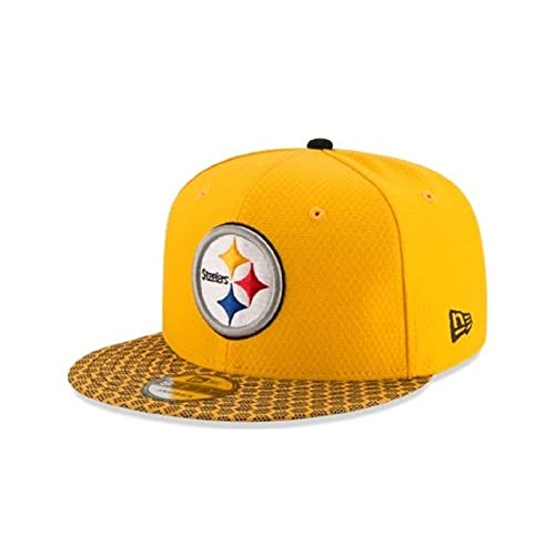 New Era Pittsburgh Steelers 2017 NFL 9Fifty Sideline Adjustable Snapback Hat 6b196f61a55