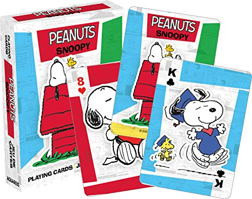 Peanuts Snoopy Playing Cards | 52 Card Deck + 2 Jokers