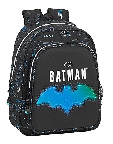 safta Mochila Escolar Infantil de Batman Bat-Tech, 270x100x330 mm