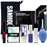 SANHOOII Camera Cleaning Kit for DSLR Cameras Sensor Cleaning and Lens Cleaning with Carry Bag for Canon/Nikon/Pentax APSC-Camera