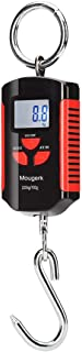 Mougerk Digital Hanging Scale Portable Heavy Duty Crane Scale 400lb 200kg 2 AAA Batteries(Not Included)