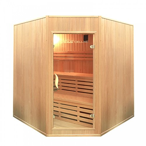 Home Deluxe - Traditionelle Sauna - Relax XL Big - Holz:...