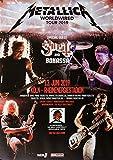 Metallica - Worldwired, Köln 2019 » Konzertplakat/Premium