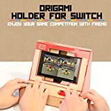 Goolsky NS Switch Case DIY Cardboard Holder Arcade Soporte para Nintendo Switch