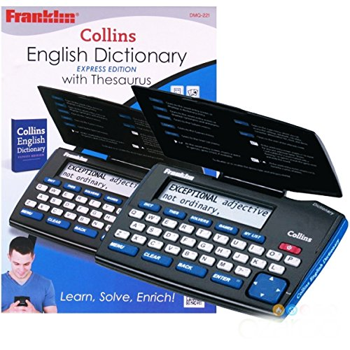 Franklin Electronic Express Collins English Dictionary & Thesaurus -...
