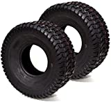 Russo 2PK 15x6.00-6 15x6.00x6 15x6x6 15x6-6 4PLY Commercial Turf Lawn Mower Tires Compatible with Toro Scag JD Kubota
