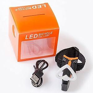 HASAGEI Luces Traseras LED Bicicleta Luz Trasera para Bicicleta USB
