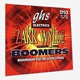 CUERDAS GUITARRA ELECTRICA - Ghs (Gbzwlo) Zakk Wylde Low/Boomers (Juego Completo 011/070E)