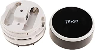Prettyia Portable Cordless Mini Desktop Vacuum Cleaner Desk Dust Cleaner/Dust Sweeper for Home Office Keyboard - Black, as...