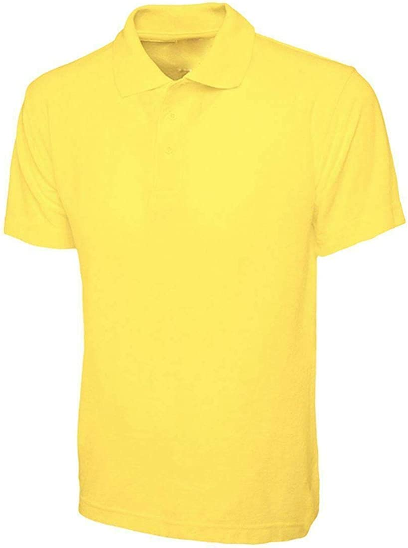 Islander Fashions Mens Lightweight Collared T Shirts Kids Boys Breathable Sports Work Casual Shirt Top 2-14 Years Small//3X Large