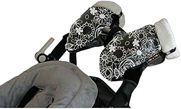 Tris&Ton Manoplas impermeables invierno silla de paseo modelo, guantes prueba de viento forro polar para carrito carro cochecito (Tris y Ton)