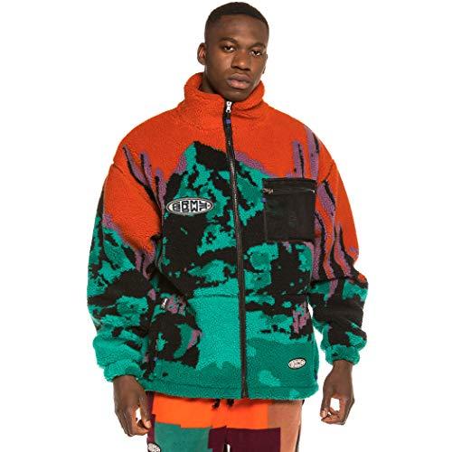 GRIMEY Chaqueta Dulce Sherpa Jacket FW20 Orange-S