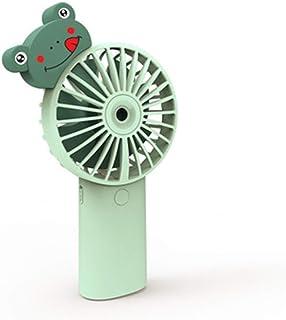 POA Portable Small Fan Small Noiseless Fan Handheld Small, USB Cartoon Mini, Spray Humidification Small