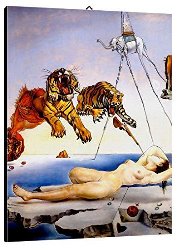Bild intelaiato Pronto da appendere Dalì 02 cm 50x70 Druck auf Leinwand das gemälde ist fertig zum aufhängen