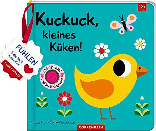 Mein Filz-Fühlbuch: Kuckuck, kleines Küken!: Fühlen und die Welt begreifen