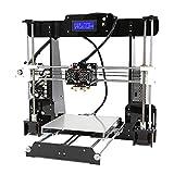W.Z.H.H.H Impresora 3D A n e t A8 M Impresora 3D de Alta precisión Reprap I3 DIY Auto ensamblaje MK8 Extrusora Boquilla Marco acrílico Pantalla LCD