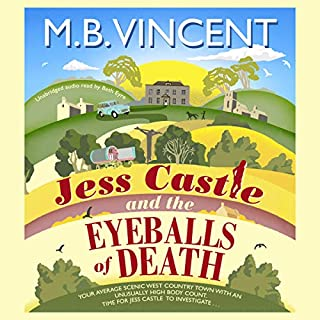 Jess Castle and the Eyeballs of Death cover art