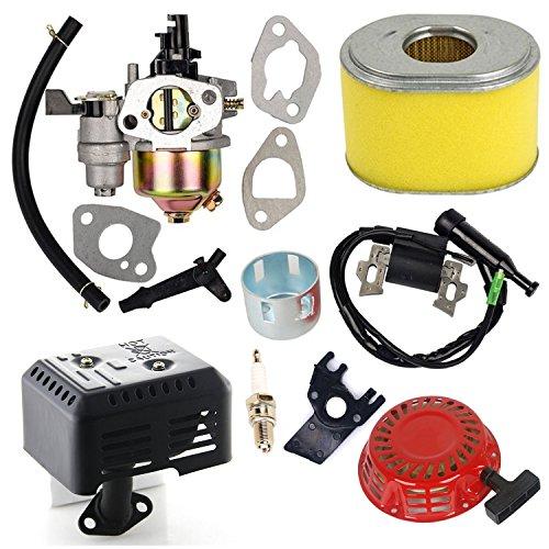 puissant Honda Gx140 Gx160 Gx200 Kit de carburateur Oxoxo pour filtre à air avec bobine d'allumage…