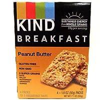 Kind グルテンフリー ブレックファースト バー(ピーナッツバター味)(7.1oz x 2箱)[海外直送品] [並行輸入品]