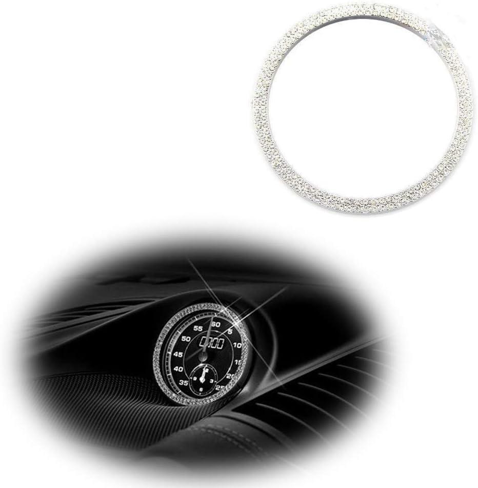 Luxury Dashboard Center Clock Compass Max 90% OFF Ring Diamond Cover Alternative dealer Emblem