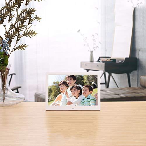 JTY 12 Inch Smart WiFi Digitale fotolijst met, HDMi HD digitale fotolijst LED display LCD reclame-machine Wandmontage, Direct delen Momenten