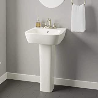 Parma 200 Vitreous China Pedestal Sink