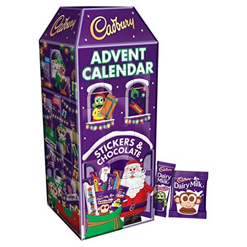 Cadbury - Calendario dell'Avvento al cioccolato, 312 g