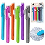 Mr. Pen Retractable Mechanical Eraser Pen, Pack of 6, Assorted Color...