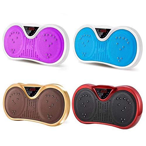HENGTA 3D Vibrationsplatte | Extra Große Anti-Rutsch-Oberfläche | Bluetooth Lautsprecher | Fett Abbauen und Body Shaping von Hause