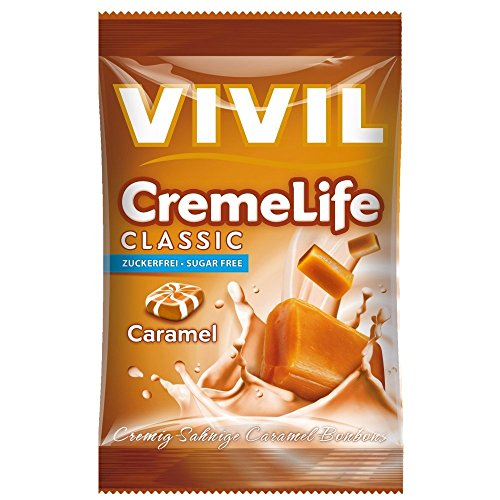 Vivil Creme Life Classic Caramel zuckerfrei 110g