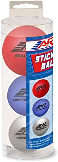 A&R Sports Assorted Stick Handling Balls (Pack of 3)