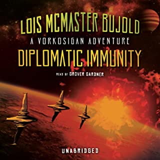 Diplomatic Immunity audiobook cover art